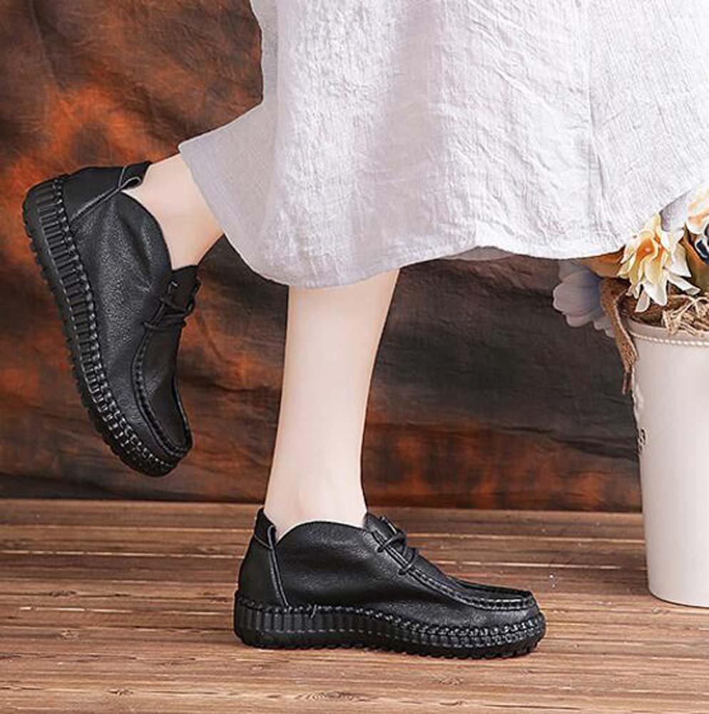 Scarpe da donna in pelle scarpe casual Scarpe da polso polso da scarpe da sole scarpe da ginnastica scarpe da sposa scarpe da sposa scarpe da sposa Scarpe Martin Scarpe da uomo Eu Size 34-40  Color : Nero , Size : 35 ) Nero 5a599c