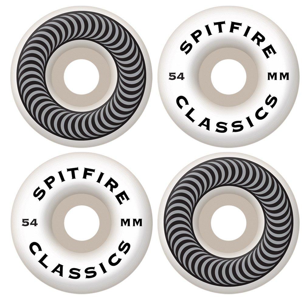 Rueda de skateboard de alto rendimiento Spitfire Classic Series (juego de 4)