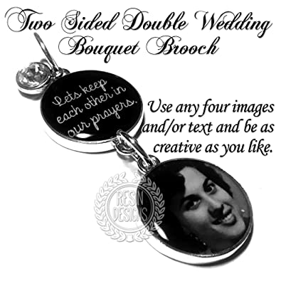 New! Jewelry & Watches Wedding Bouquet Memorial Photo Brooch Other Wedding Jewelry