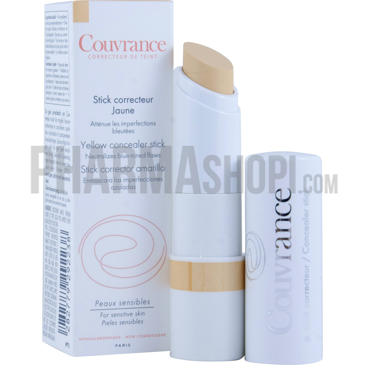 Avene - Couvrance Concealer Stick - # Yellow 3.5g/0.12oz AVENE (Pierre Fabre It. SpA) 3282779292238