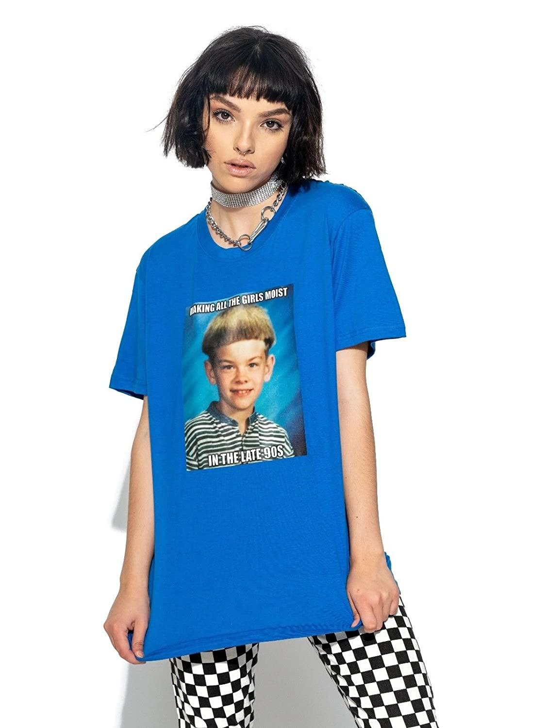 d174310d Amazon.com: In The Late 90s T-shirt Top Tee Women's Meme Vtg Tumblr Art Hoe  Vintage Grunge Hipster: Clothing