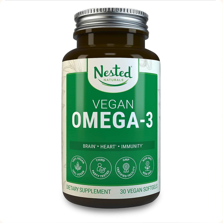 3. Nested Naturals Vegan Omega 3