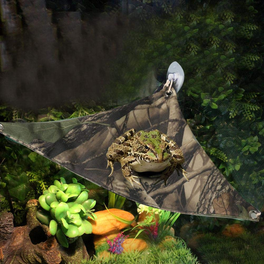 Hamaca simulada triangular del camuflaje del bosque de la ...