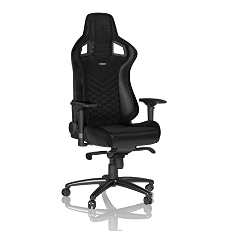 Stupendous Noblechairs Epic Gaming Chair Office Chair Desk Chair Pu Leather Black Evergreenethics Interior Chair Design Evergreenethicsorg