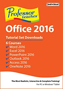Professor Teaches Office 2016 [PC Download]