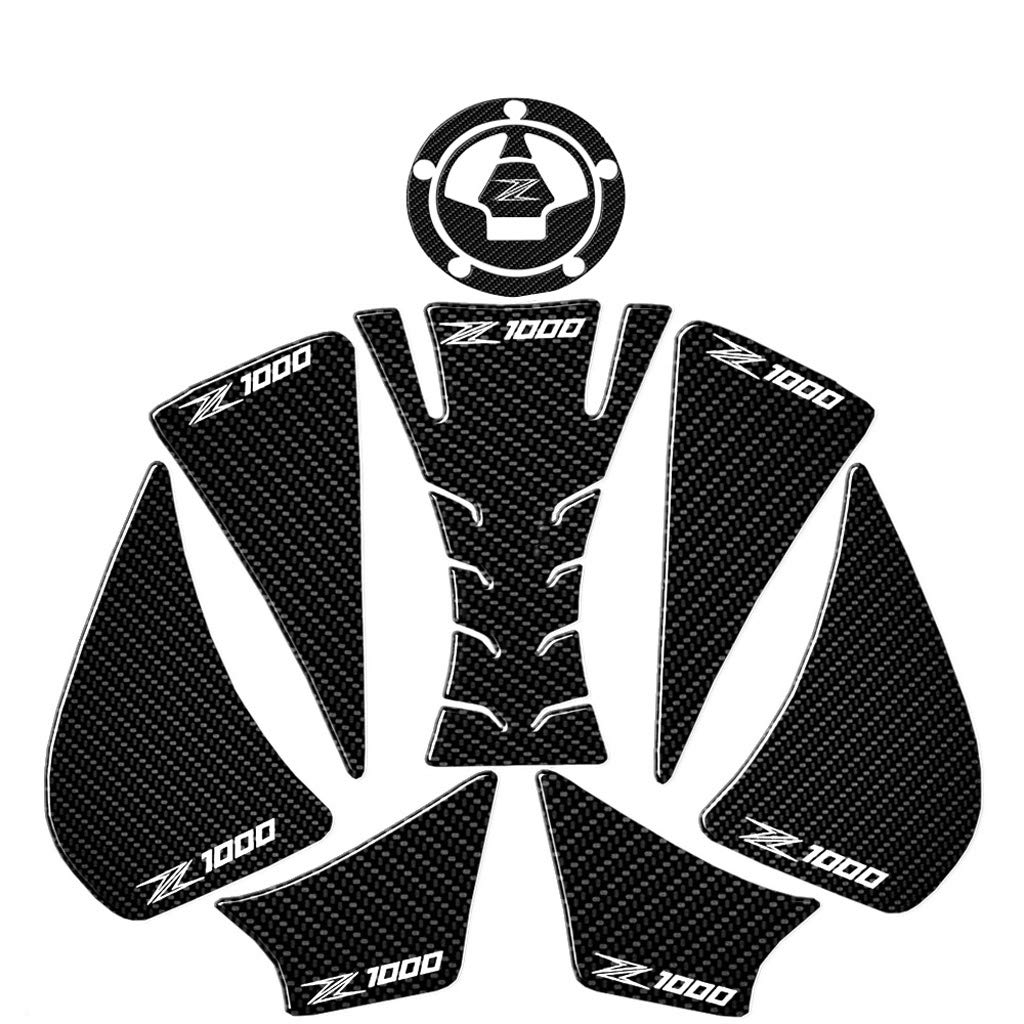 Motorrad Kraftstoff Tankdeckel Pad Schutz Aufkleber F/ür Kawasaki Z1000 Z1000R