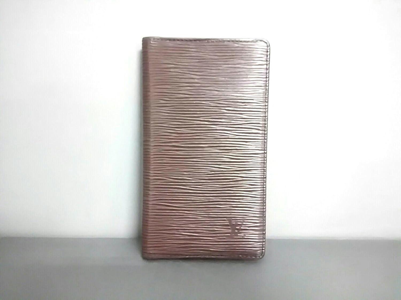 (ルイヴィトン) LOUIS VUITTON 手帳 モカ R2052D アジェンダ ポッシュ  【中古】 B07F69LSD3
