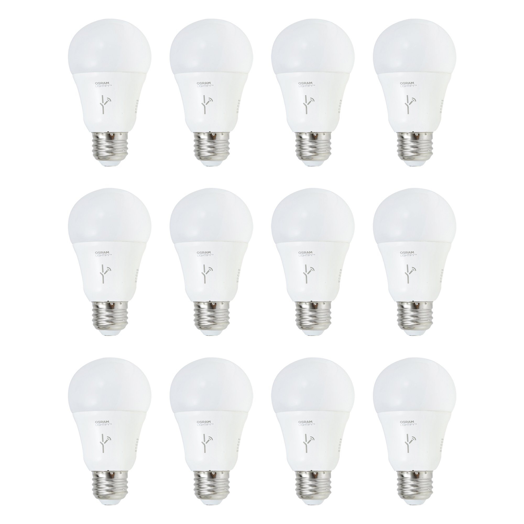 Sylvania Lightify 60-Watt A19 Tunable White Smart Home LED Light Bulb (12 Pack) by Sylvania