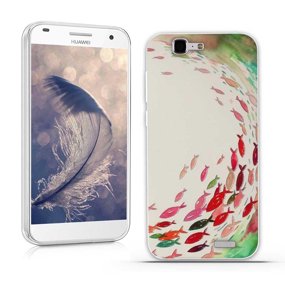 4b3bdff35dc Funda Huawei Ascend G7 (L01 L03 C199) - Fubaoda: Amazon.es: Electrónica