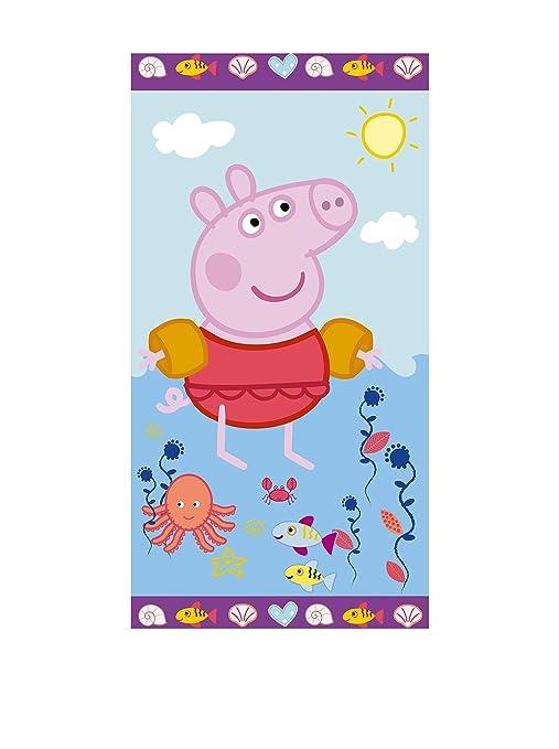 Peppa Pig Toalla De Playa Sea Azul 70 x 140