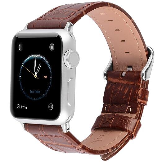 11 opinioni per Apple Watch Cinturino, Fullmosa®Bambú Jan Serie Cinturino di Vera Pelle y