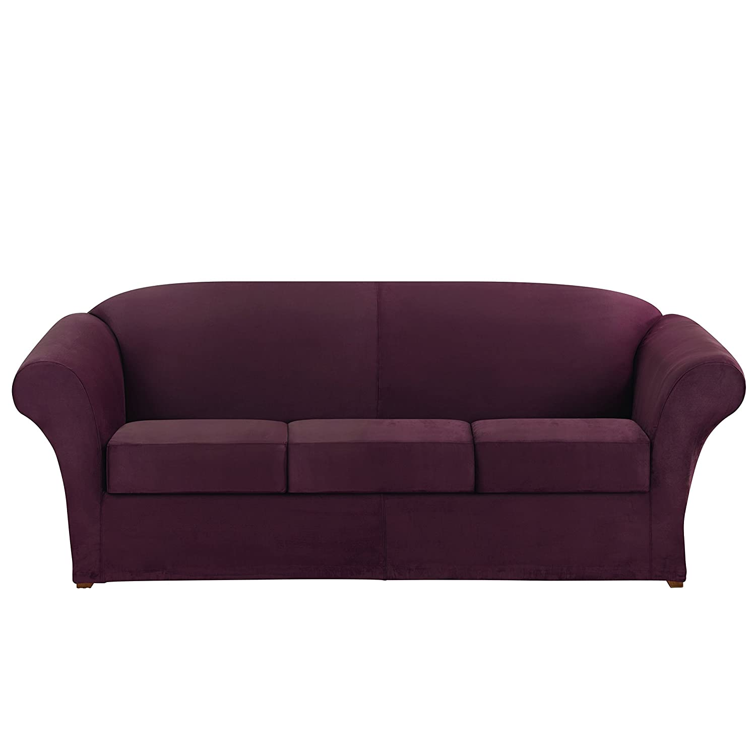 Amazon Ultimate Heavyweight Stretch Suede Sofa Individual 3