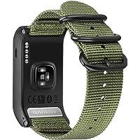 Fintie armband voor Garmin Vívoactive HR Sport GPS-smartwatch - premium nylon ademende horlogeband sport armband verstelbare reserveband met roestvrijstalen gespen