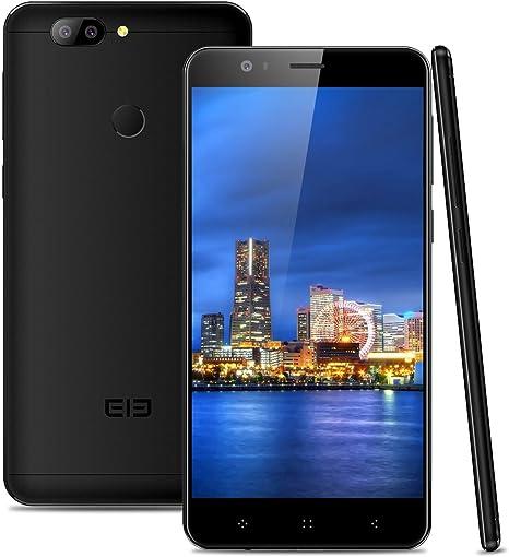 ELEPHONE P8 Mini 4G Smartphone Libre (4GB RAM + 64GB ROM, Dual Cámara 16 MP+13MP, Dual SIM Android 7.0 Teléfono Celular, MT6750T Octa-Core 1.5GHz, Pantalla FHD 5.0, Fingerprint GPS OTG): Amazon.es: Electrónica