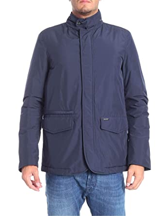 Woolrich W0cps2696lc103989 Jacket Men's Outerwear Blue Polyester rr4Ywq
