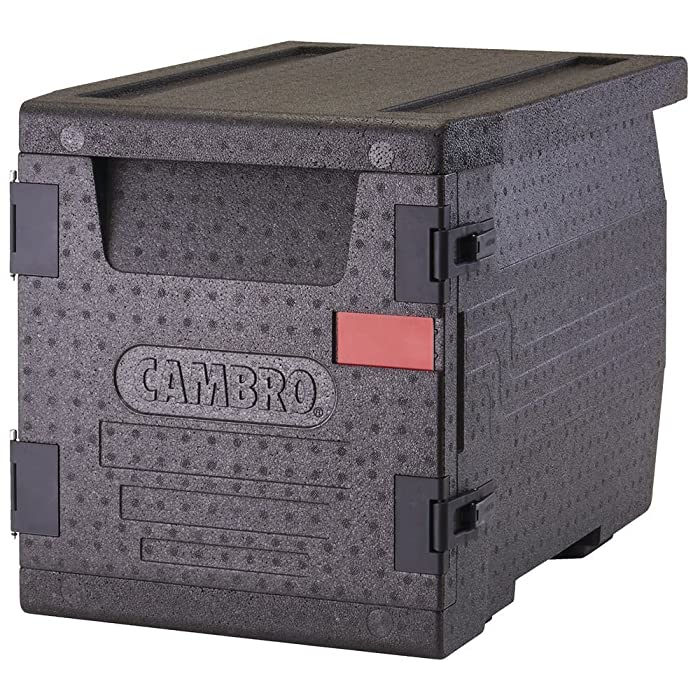 Cambro EPP300110 Black Cam GoBox Front Loading Catering Box Case of 1