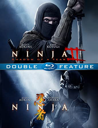 Amazon.com: Ninja 1 & 2 Double Feature (Blu-Ray): Scott ...