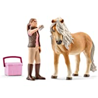 Schleich SC41431 Groom with Icelandic Pony Mare Playset