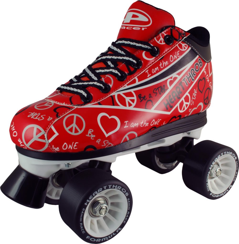Roller skates red - Roller Skates Red 24