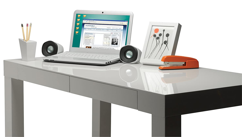 speakers desk. amazon.com: log980000522 - logitech, inc. z110 stereo speakers: cell phones \u0026 accessories speakers desk