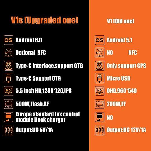 Actualizar] Android 6.0 POS Terminal 3G, SM-V1S Pantalla Táctil de ...