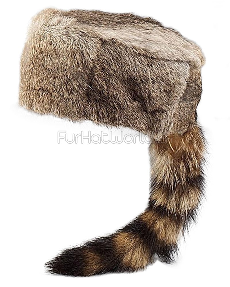 frr Kids Davy Crockett Rabbit Hat - S
