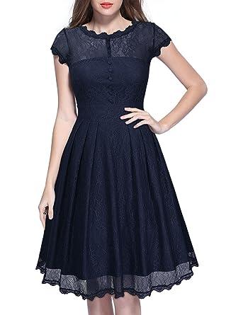 Navy Blue Vintage Dresses