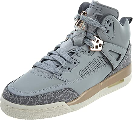 Nike Air Jordan Spizike Wolf Grey Dark Bronze GS Grade School Sz 4-6Y 535712-018