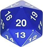 Koplow 14797 D20 Single 55 mm Countdown Blue Bagged