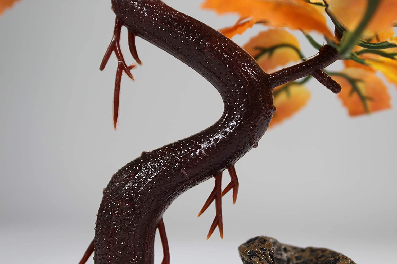 Pennplax Red Bonsai Tree Aquarium Decor, 8-Inch - RR969