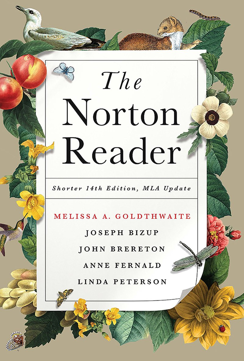 The Norton Reader with 2016 MLA Update (Shorter Fourteenth Edition) by W. W. Norton & Company