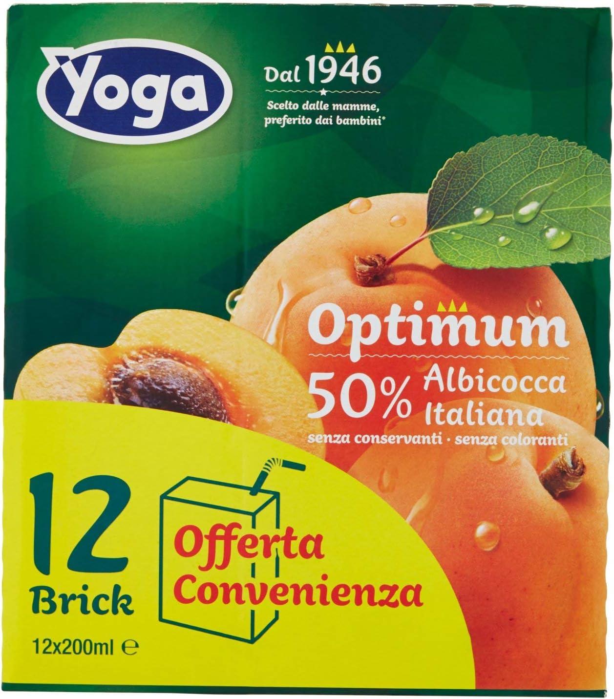 Yoga Nettare di Albicocca (Percentuale di Frutta 50%) - 2400 ml