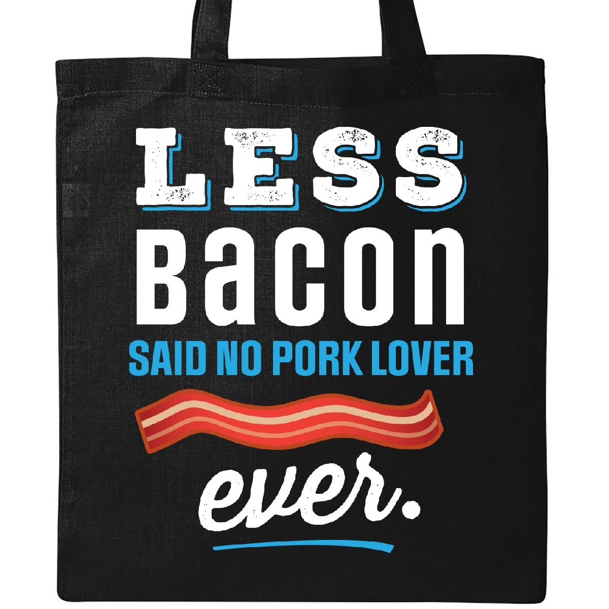 Inktastic - Funny Bacon Lover Gift Tote Bag Black 2e1aa