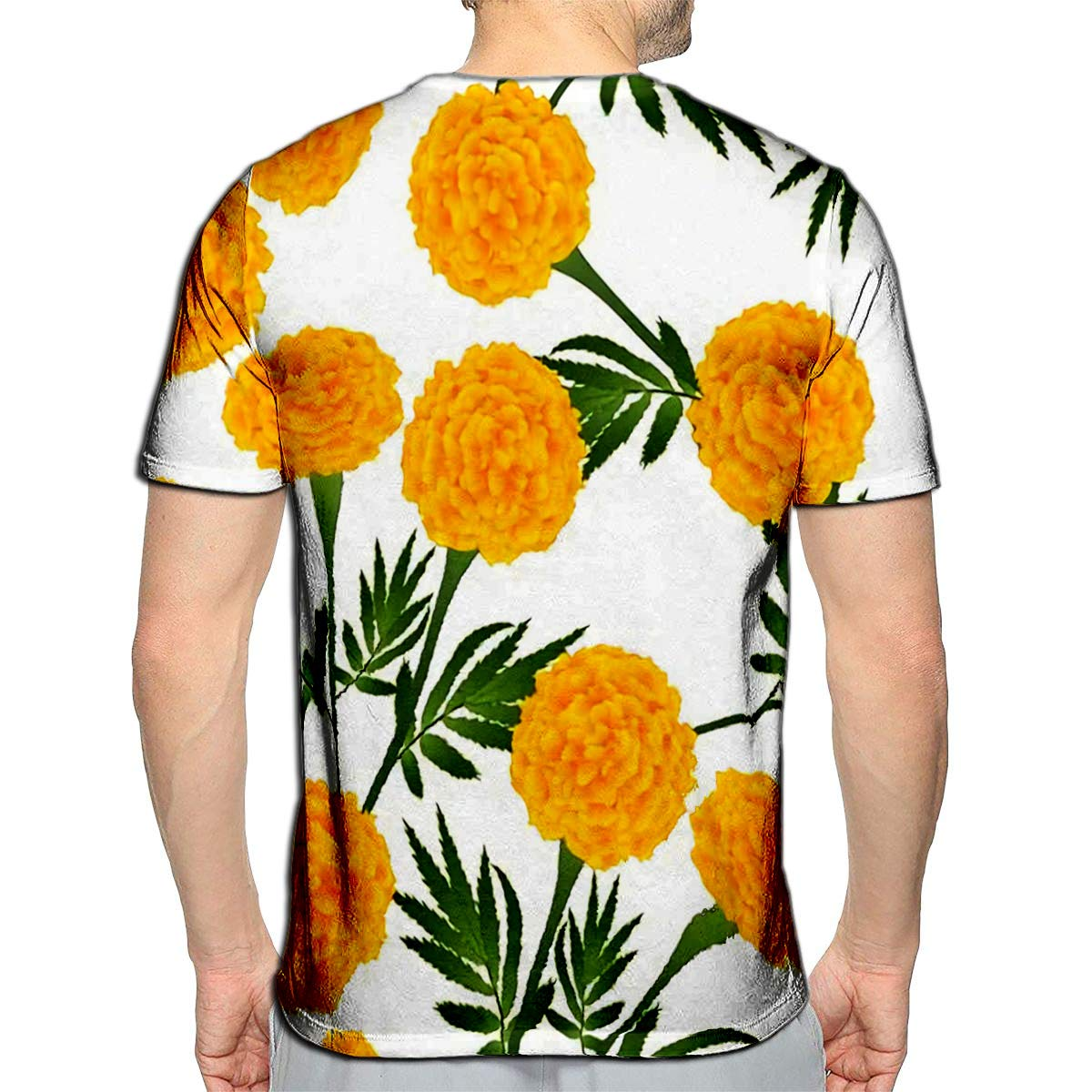YILINGER 3D Printed T-Shirts Colorful Doodle Cartoon Marine Life Objects and Symbols Short Sleeve Tops Tees