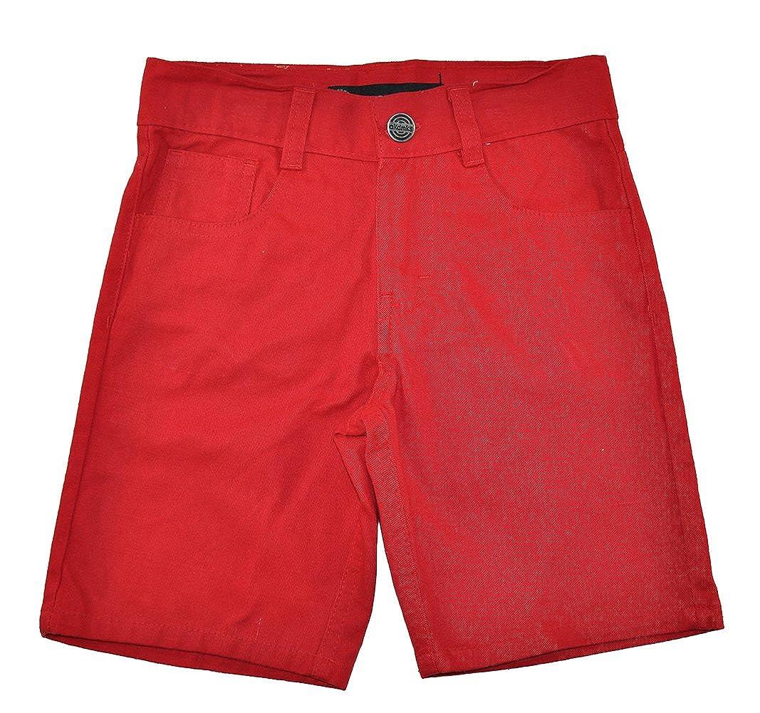 Akademiks Little Boys Plaid Shirt 3pc Short Set