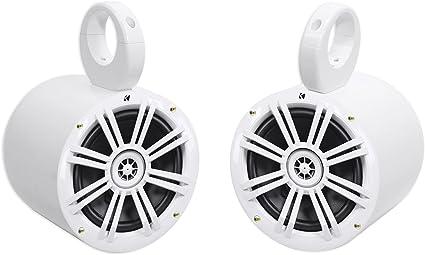 2 8 600 Watt Waterproof Overhead soundbar//Roll bar Speakers for Jeep Wrangler