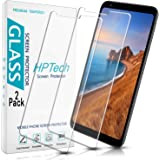 HPTech LG Stylo 5 Screen Protector - Tempered Glass Film for LG Stylo 5, Easy to Install, Bubble Free, 9H Hardness, 2…