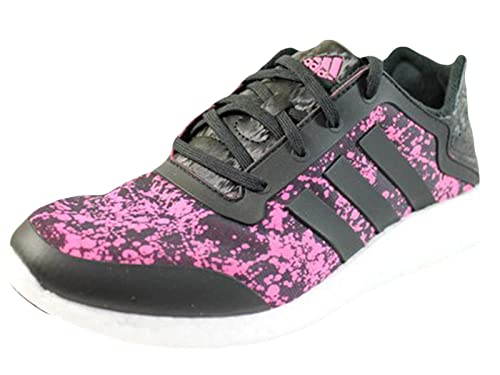 79a7eab09af61 Adidas Women s Pure Boost W Q4 Running Shoes Black-Pink M21406 (7 ...