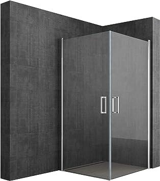 Sogood: Cabina de ducha de esquina diseño Ravenna24K 100x100x195cm ...