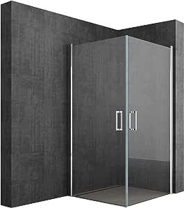 Sogood: Cabina de ducha de esquina diseño Ravenna24K 10x75x195cm ...