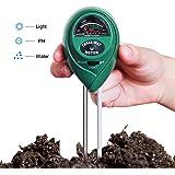 Hip2cart 3-in-1 Light, PH and Moist Meter Plant Soil Tester Kits for Gardening Farming