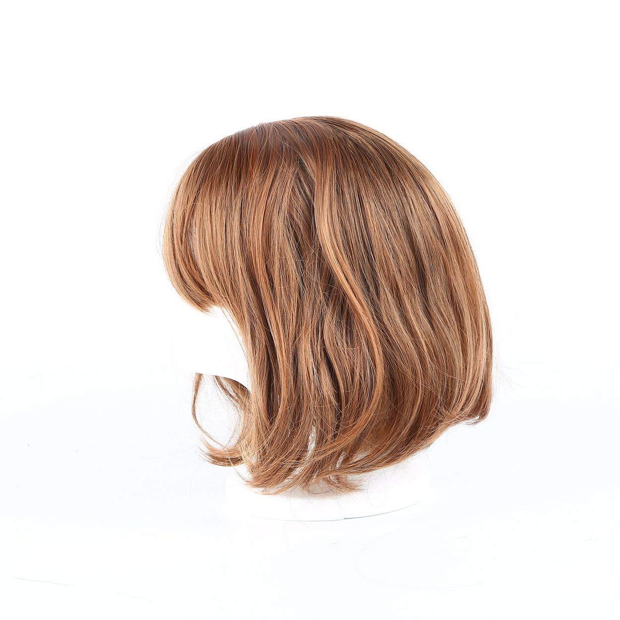 Lorenlli Pelucas llenas del cordón humano del pelo corto de ...
