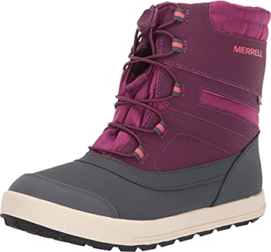 New Merrell Girl's Snow Bank 2.0 Waterproof Snow Boots