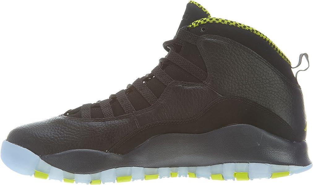 aab163314d7b NIKE Air Jordan Retro 10 X Basketball Shoes Sneaker Black Green. AIR Jordan  Retro 10  Venom  - 310805-033 - Size 7. Back. Double-tap to zoom