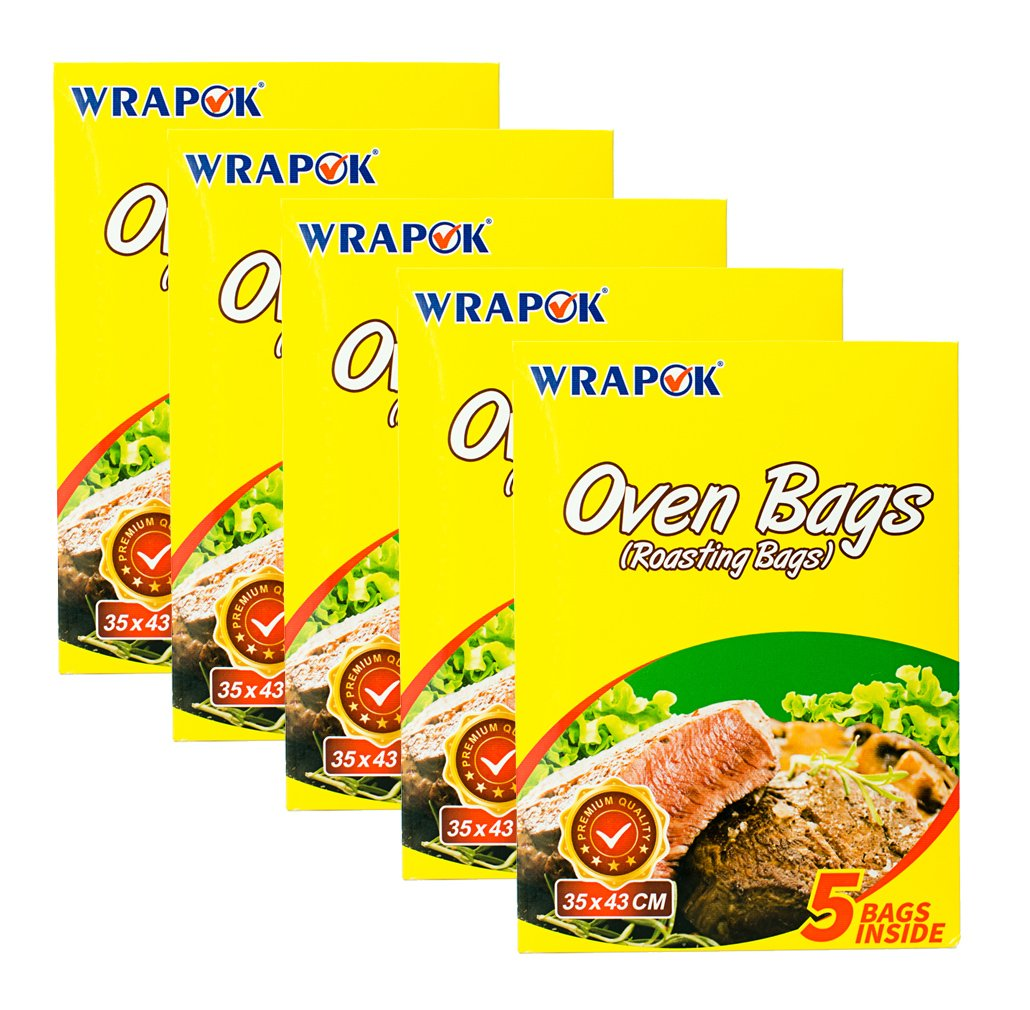 Amazon Wrapok Cooking Oven Bags Medium No Mess Roasting Bags