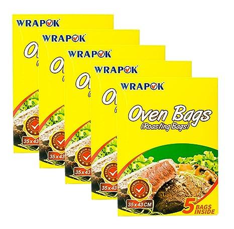 Amazon.com: WRAPOK - Bolsas de horno para asar, sin ensuciar ...