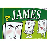 James's Game: Stocking filler for men or boy or male called JAMES JAMIE JIMMY OR JIM etc (also secret santa or fun birthday or christmas party present or special xmas gift / present for the man who has everything !)