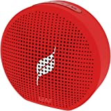Leaf Pop Portable Wireless Bluetooth Speaker with Mic (Ferrari Red)