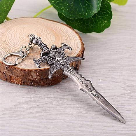 Amazon.com: 1 llavero con forma de espada de bolsillo ...
