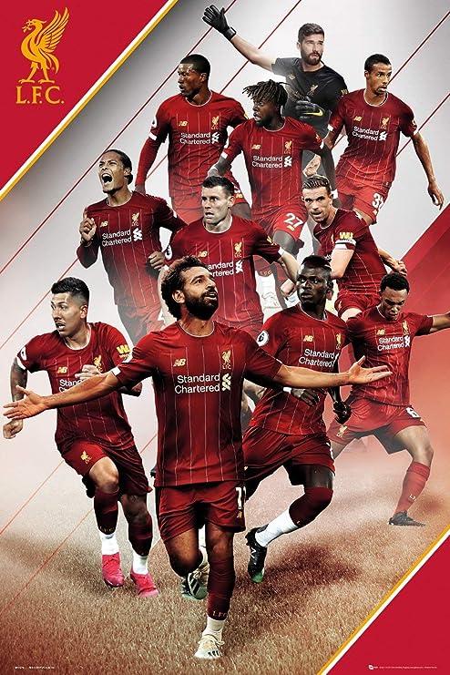 Liverpool Team Photo 2020 - Hd Football